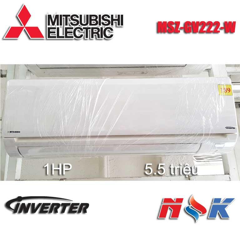 Máy lạnh Mitsubishi Inverter MSZ-GV222-W 1HP (2012)
