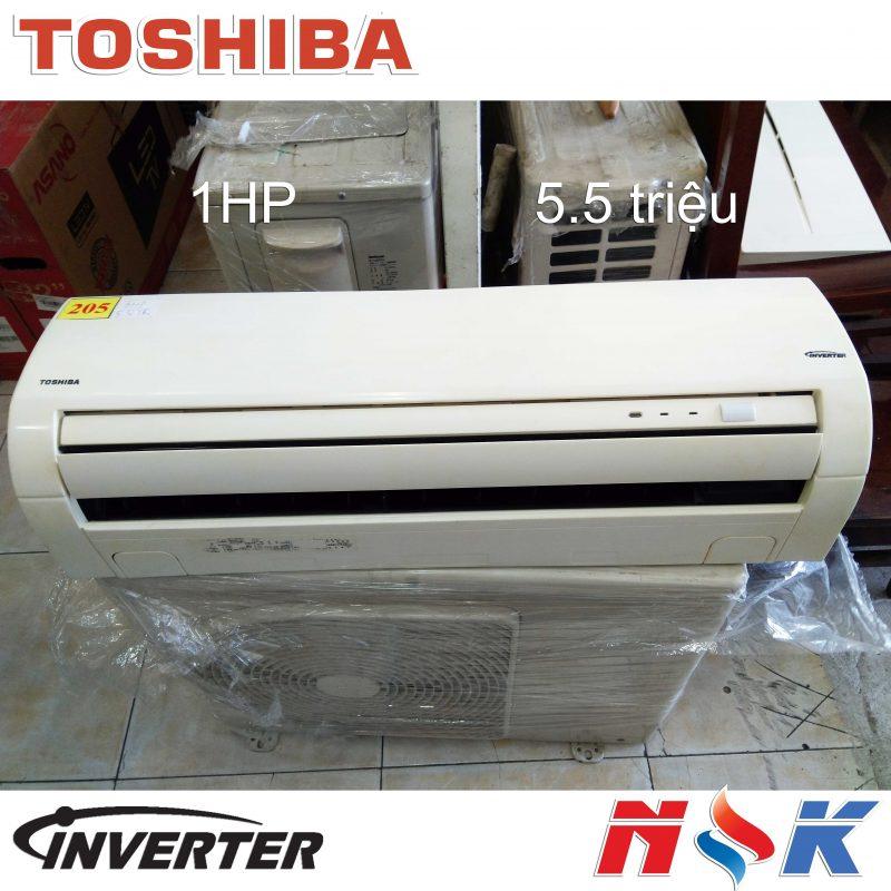 Máy lạnh Toshiba Inverter 1HP