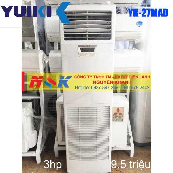 Máy lạnh tủ đứng Yuiki YK-27MAD 3HP