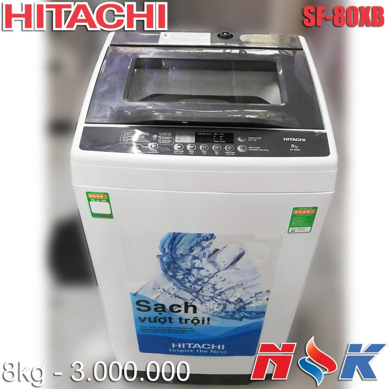 Máy giặt Hitachi SF-80XB 8kg