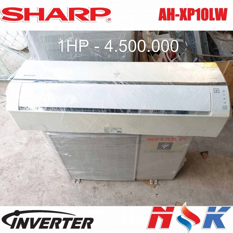 Máy lạnh Sharp Inverter AH-XP10LW 1HP