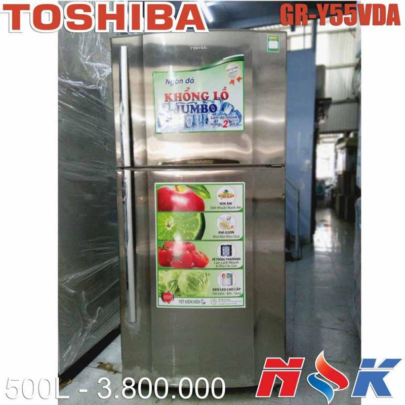 Tủ lạnh Toshiba GR-Y55VDA 500 lít