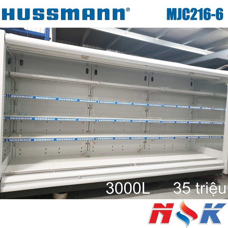Tủ mát trưng bày siêu thị Hussmann MJC216-6 3000 lít