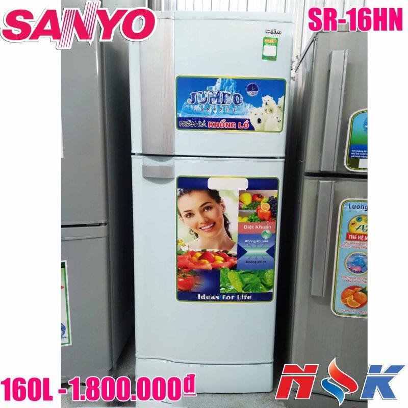 Tủ lạnh Sanyo SR-16HN 160 lít