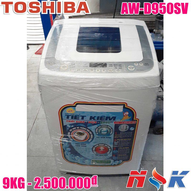 Máy giặt Toshiba Inverter AW-D950SV 9kg