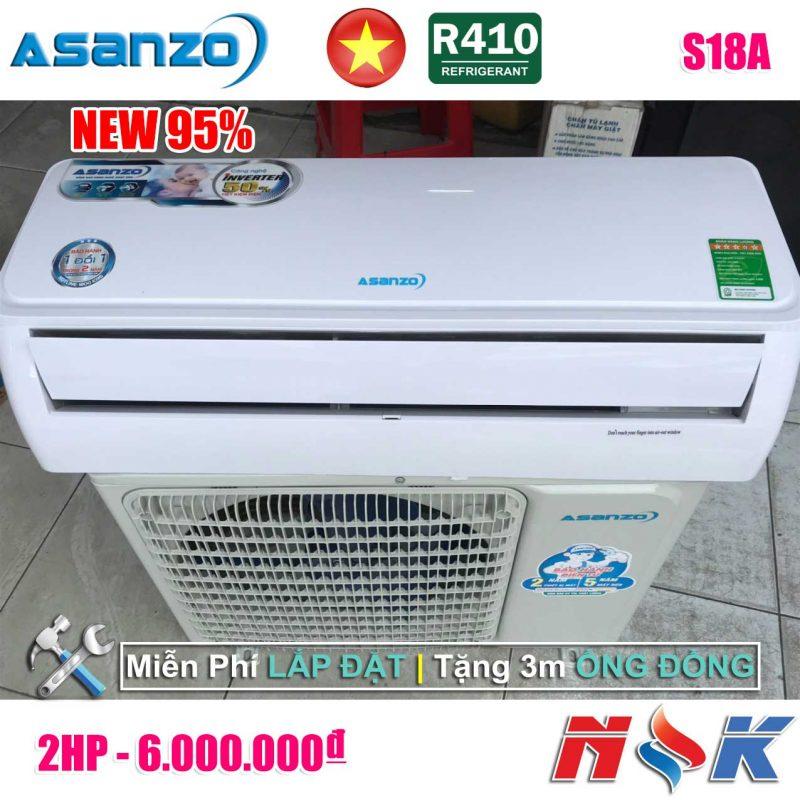 Máy lạnh Asanzo S18A 2HP