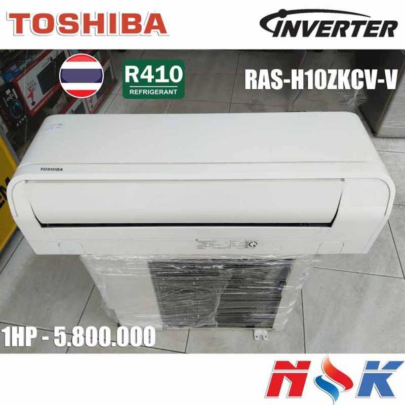 Máy lạnh Toshiba Inverter RAS-H10ZKCV-V 1HP