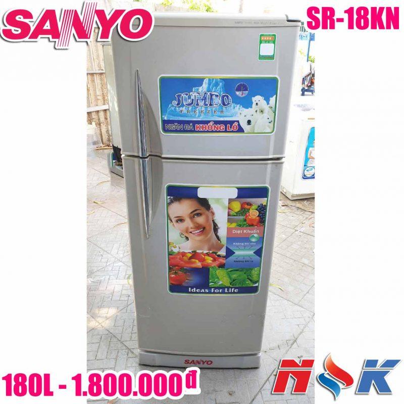 Tủ lạnh Sanyo SR-18KN 180 lít