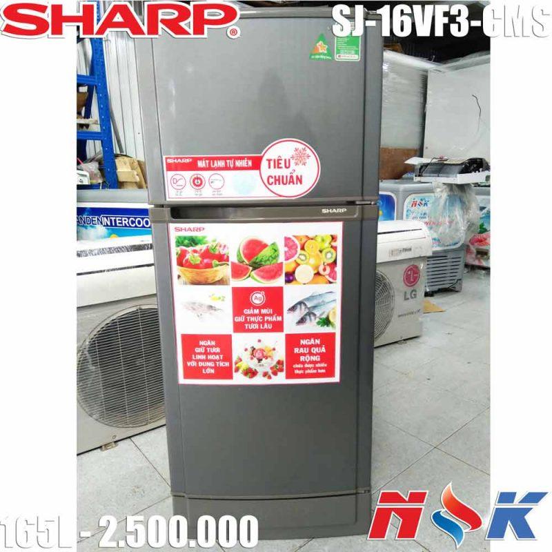 Tủ lạnh Sharp SJ-16VF3-CMS 165 lít