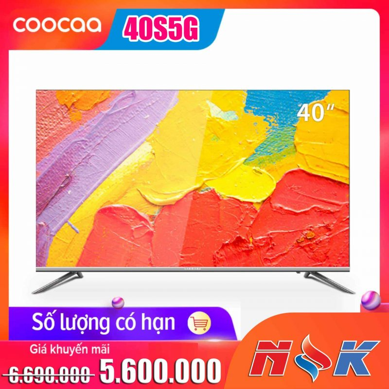 Android TV Full HD Coocaa 40 inch – Model 40S5G