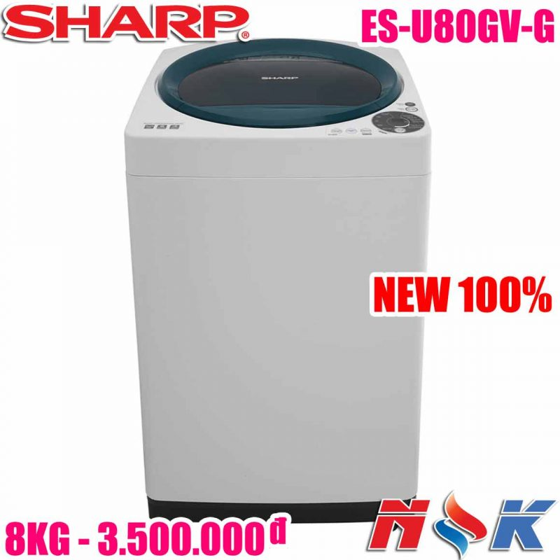 Máy giặt Sharp ES-U80GV-G 8kg