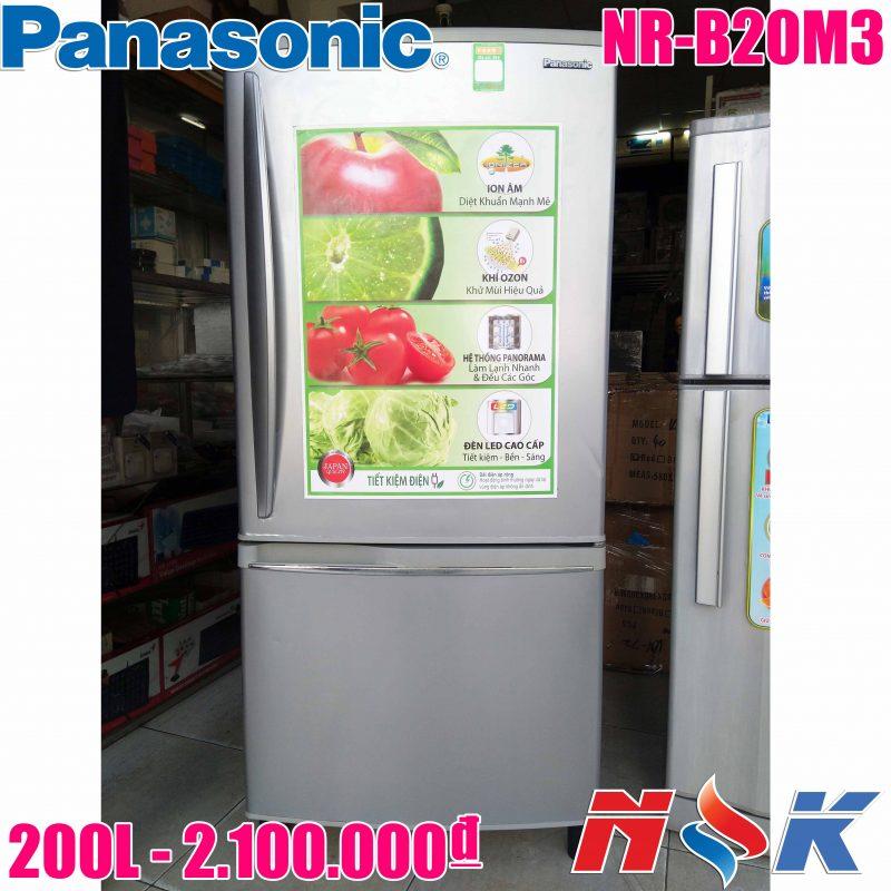 Tủ lạnh Panasonic NR-B20M3 200 lít