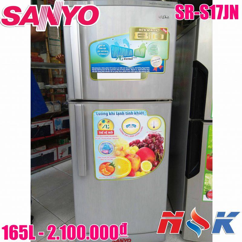 Tủ lạnh Sanyo SR-S17JN 165 lít