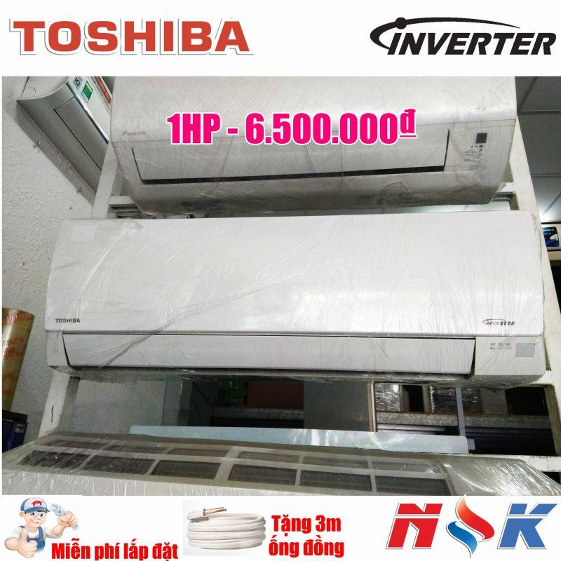 Máy lạnh nội địa Toshiba Inverter 1HP