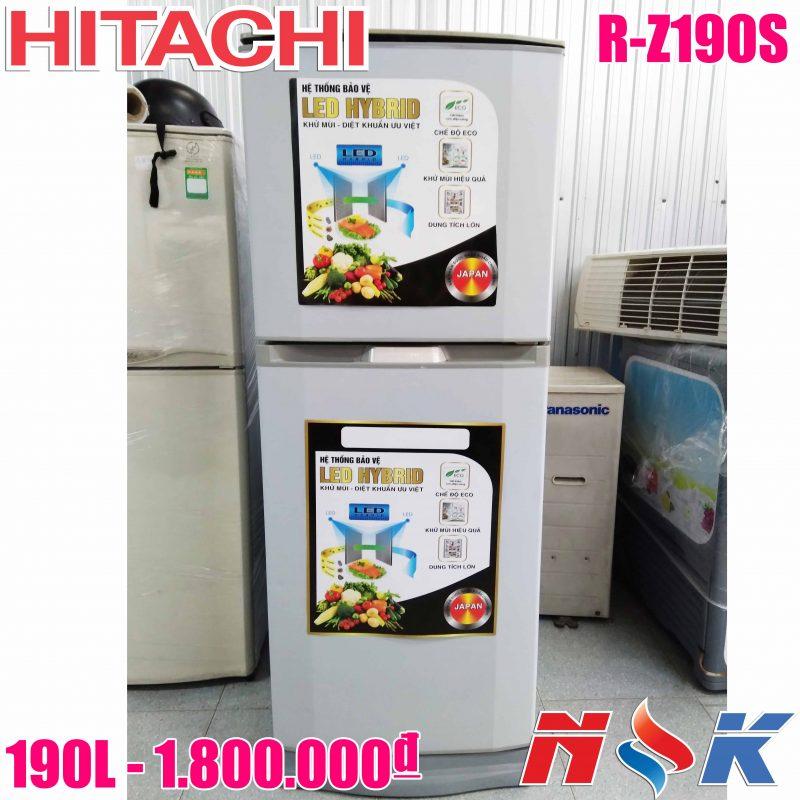 Tủ lạnh Hitachi R-Z190S 190 lít