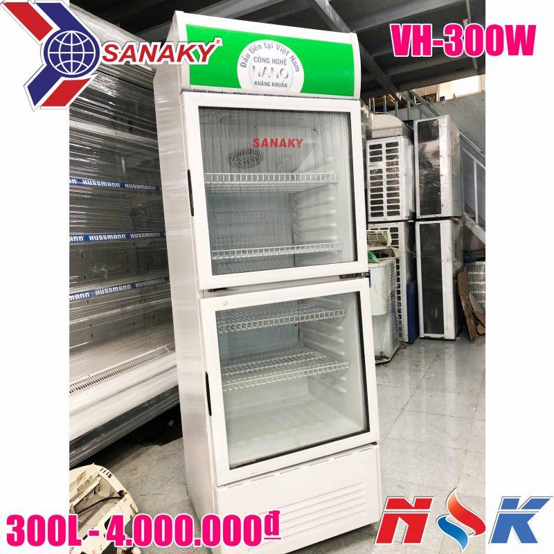 Tủ mát Sanaky VH-300W 300 lít