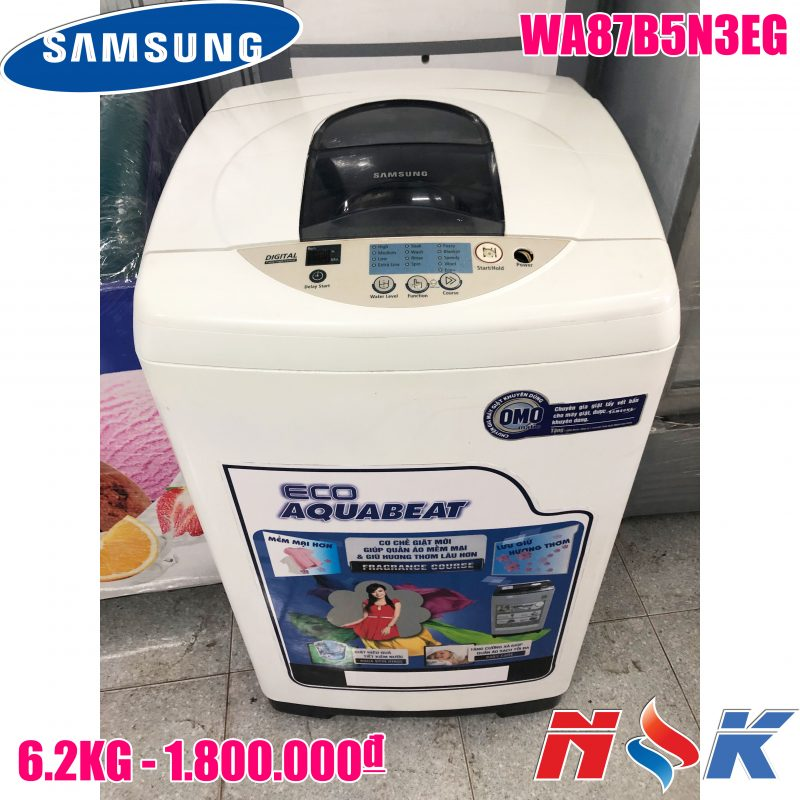 Máy giặt Samsung WA87B5N3EG 6.2kg