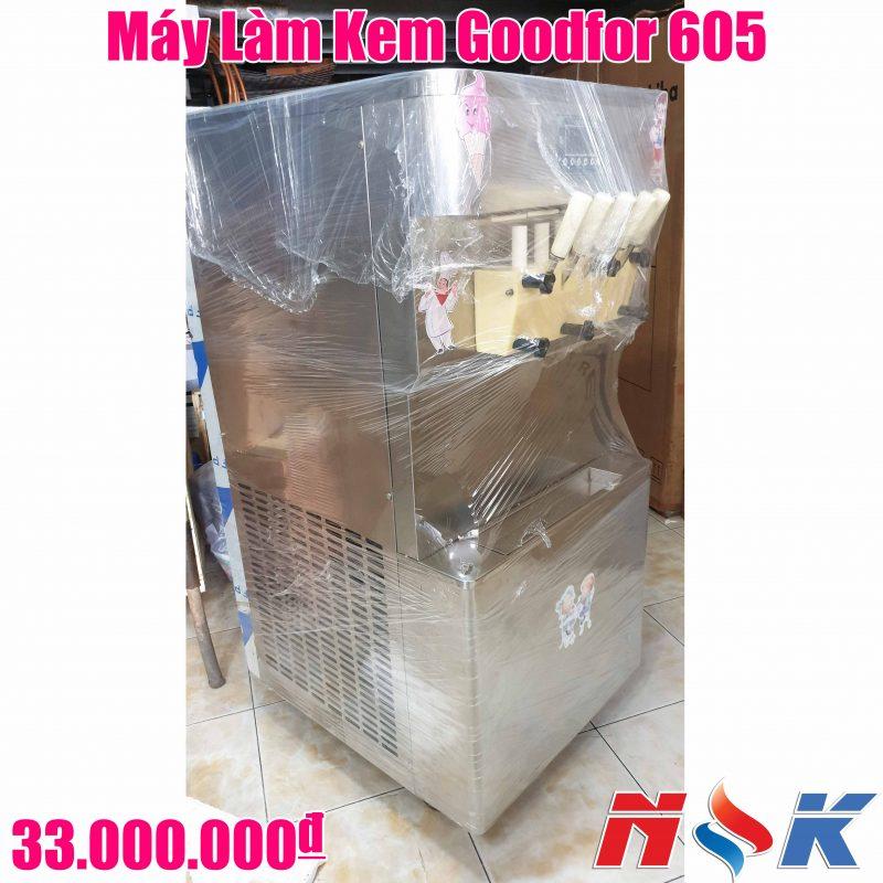 Máy Làm Kem Tươi Goodfor 605 (5 vòi lấy kem)