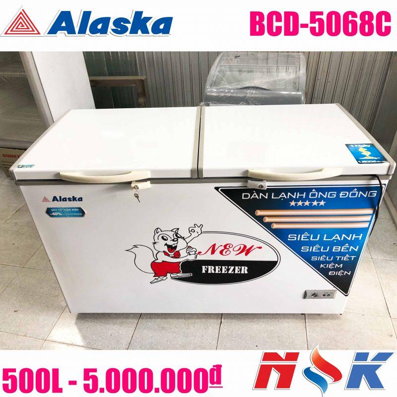 Tủ đông Alaska BCD-5068C 500 lít