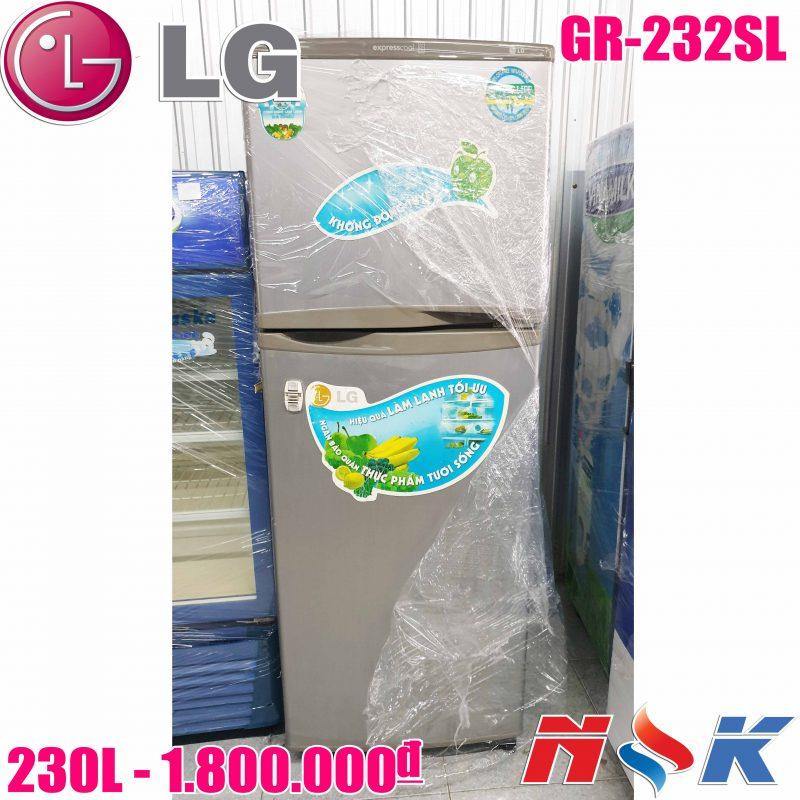 Tủ lạnh LG GR-232SL 230 lít