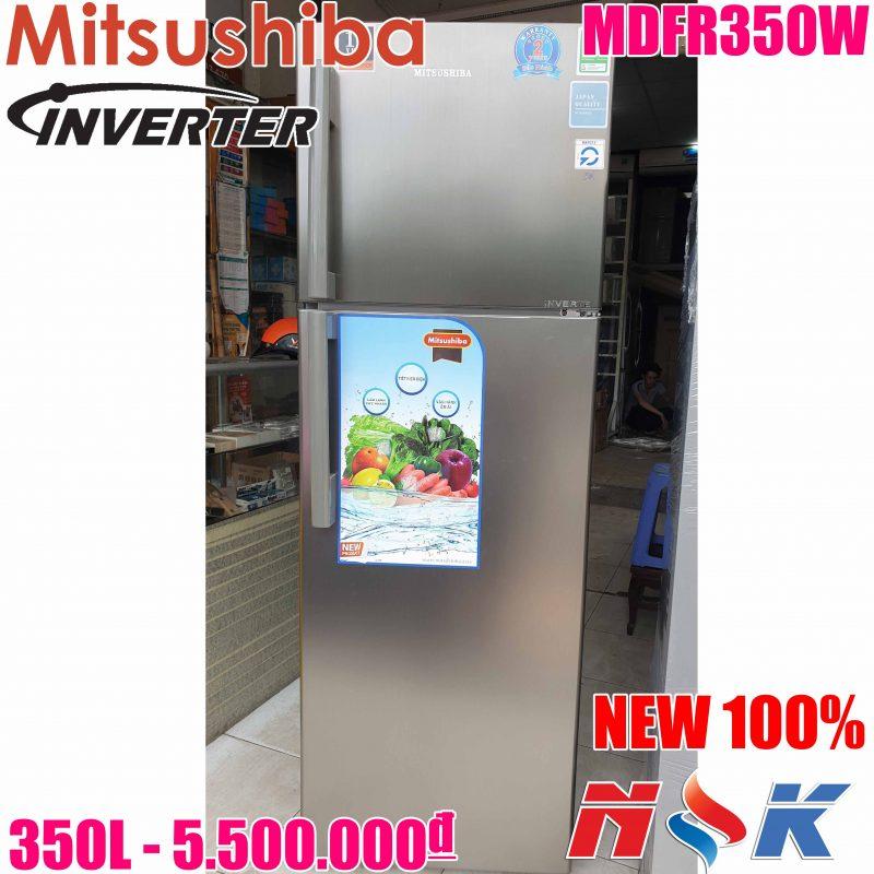 Tủ Lạnh Mitsushiba Inverter MDFR350W 350 lít