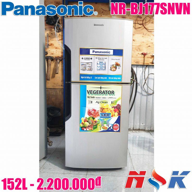 Tủ lạnh Panasonic NR-BJ177SNVN 152 lít