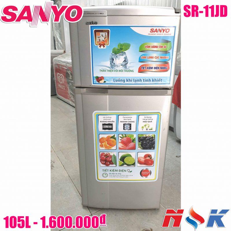 Tủ lạnh Sanyo SR-11JD 110 lít