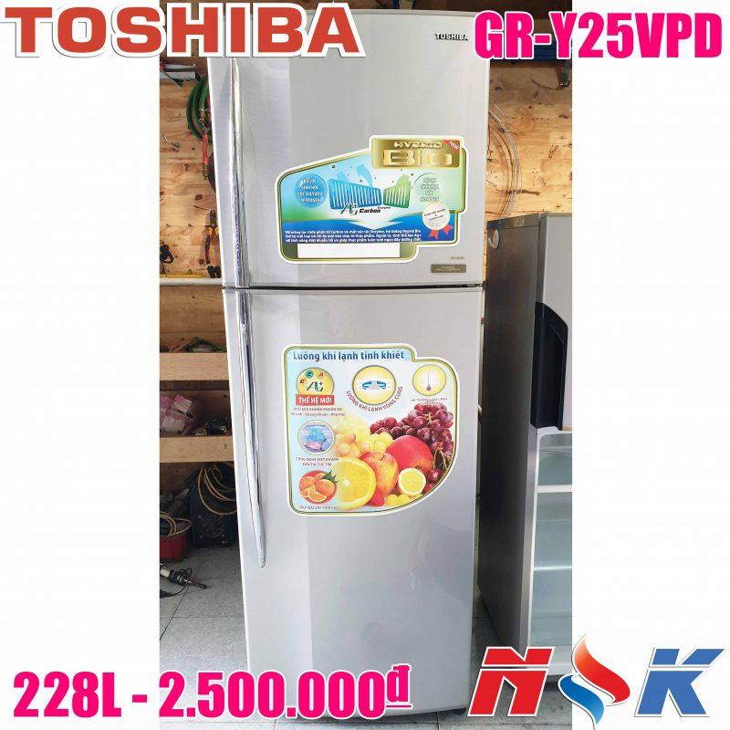 Tủ lạnh Toshiba GR-Y25VPD 228 lít