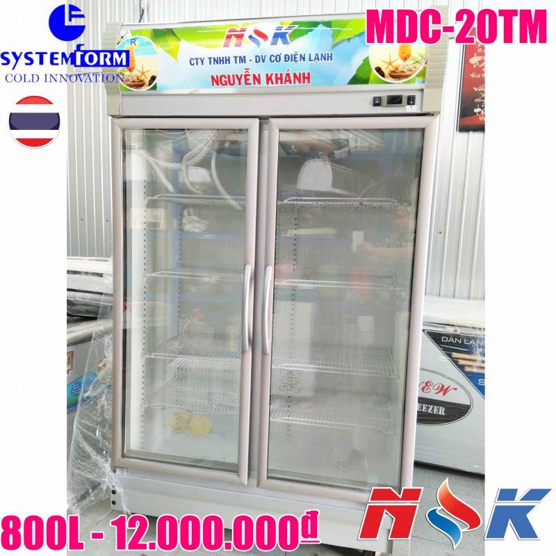 Tủ mát Systerm Form MDC-20TM 800 lít