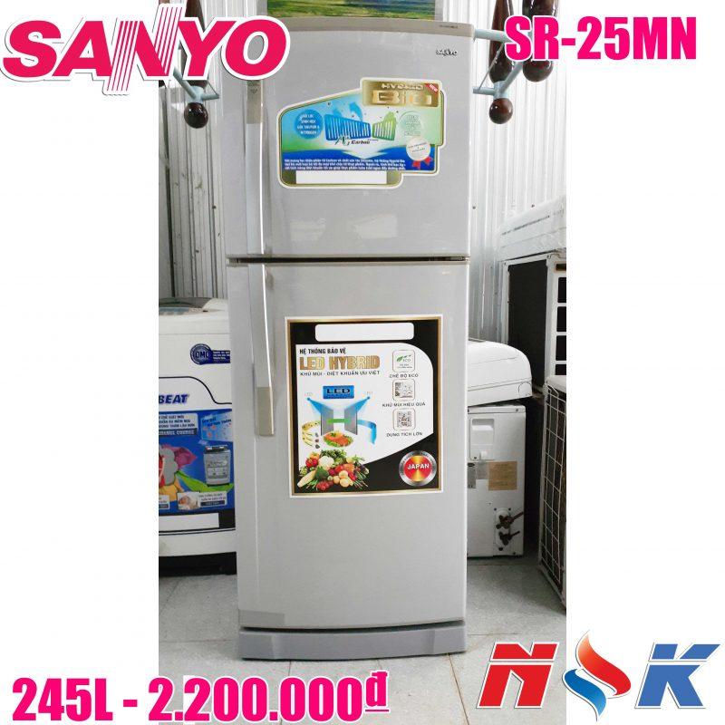 Tủ lạnh Sanyo SR-25MN 245 lít