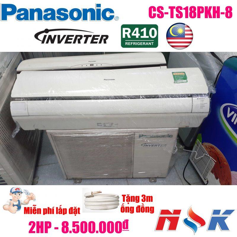 Máy lạnh Panasonic Inverter CS-TS18PKH-8 2HP
