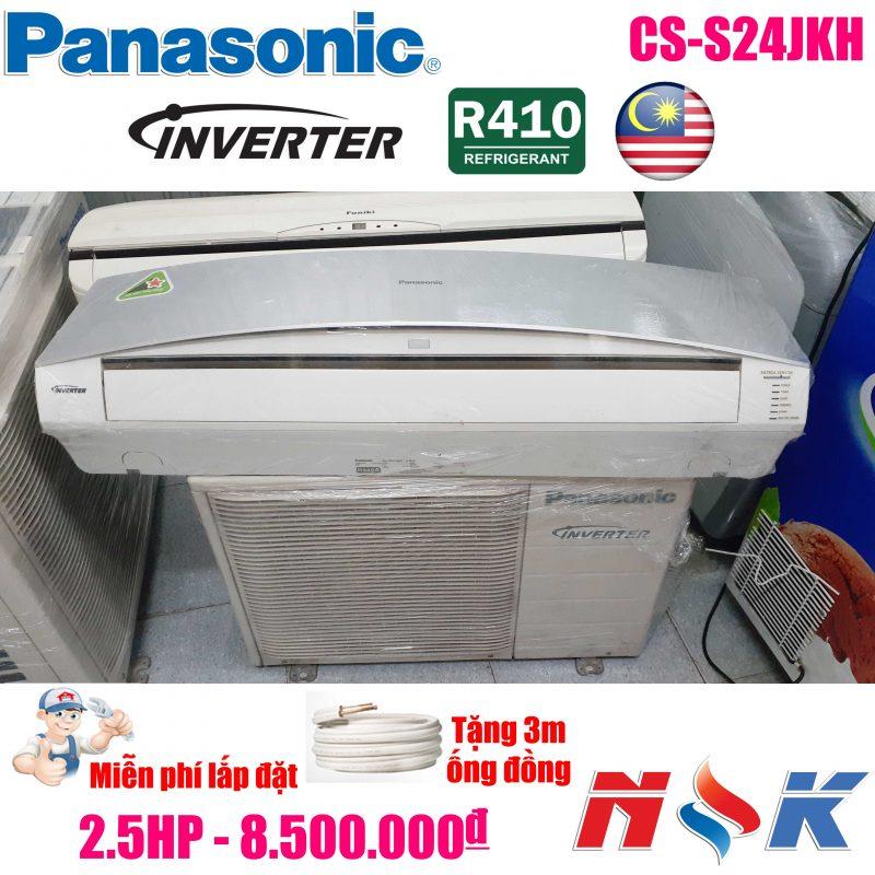Máy lạnh Panasonic Inverter CS-S24JKH 2.5HP