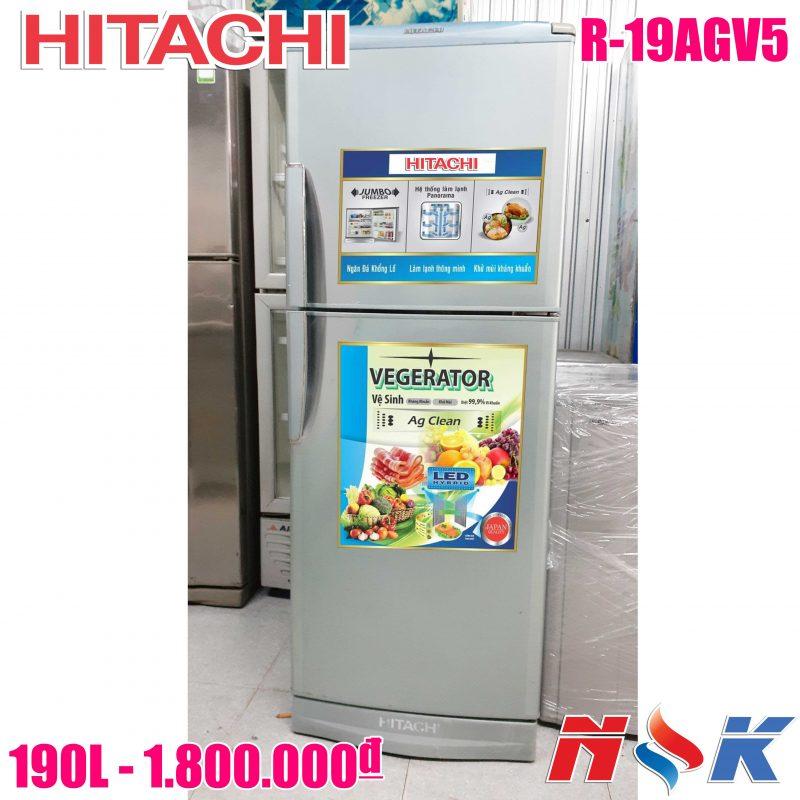 Tủ lạnh Hitachi R-19AGV5D 190 lít