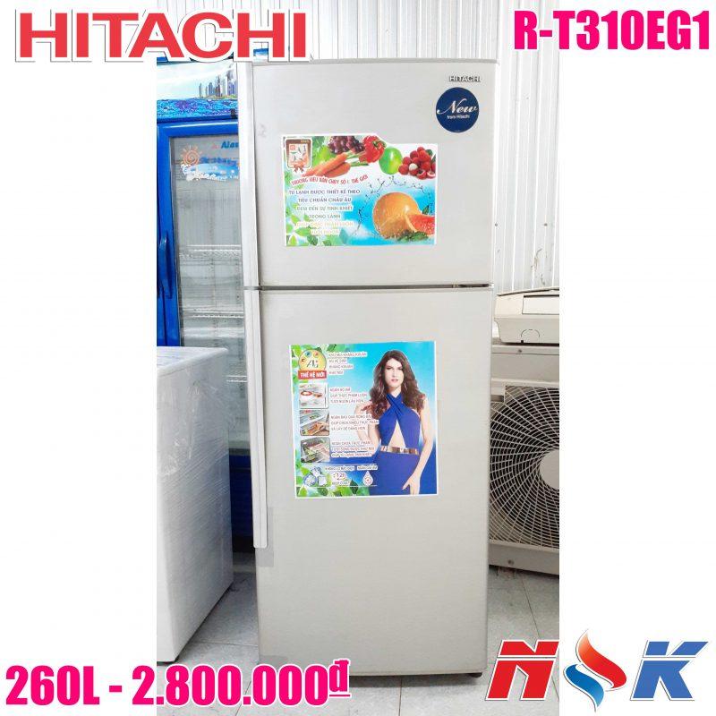 Tủ lạnh Hitachi R-T310EG1 260 lít