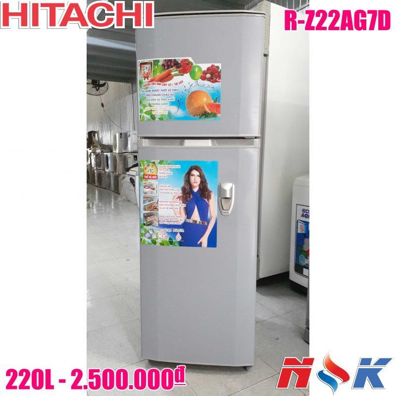 Tủ lạnh Hitachi R-Z22AG7D 220 lít