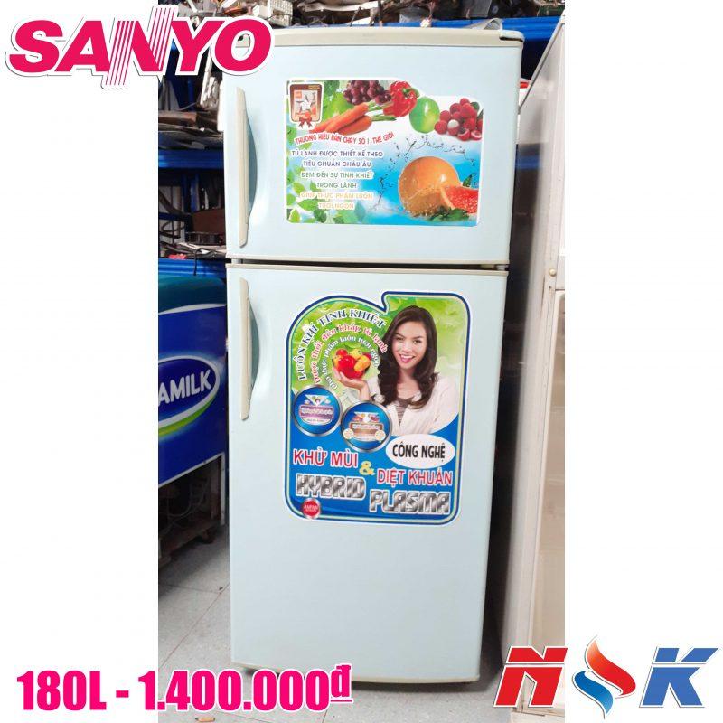 Tủ lạnh Sanyo SR-18VN 180 lít