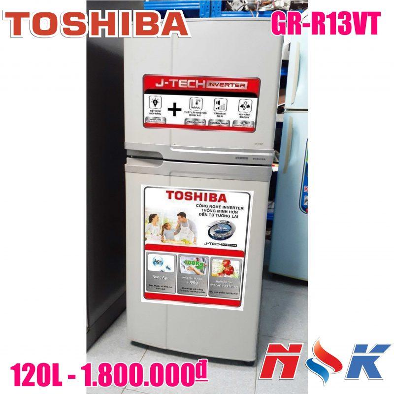 Tủ lạnh Toshiba GR-R13VT 120 lít