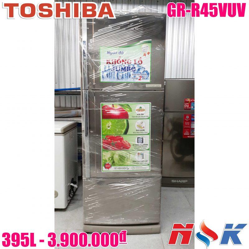 Tủ lạnh Toshiba GR-R45VUV 395 lít