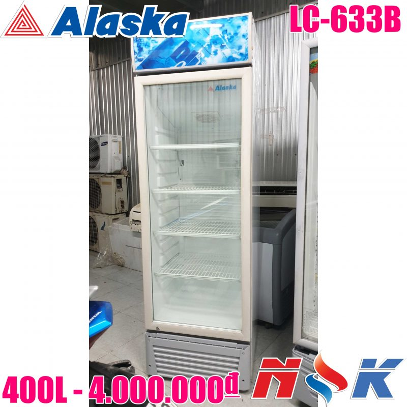 Tủ mát Alaksa LC-633B 400 lít