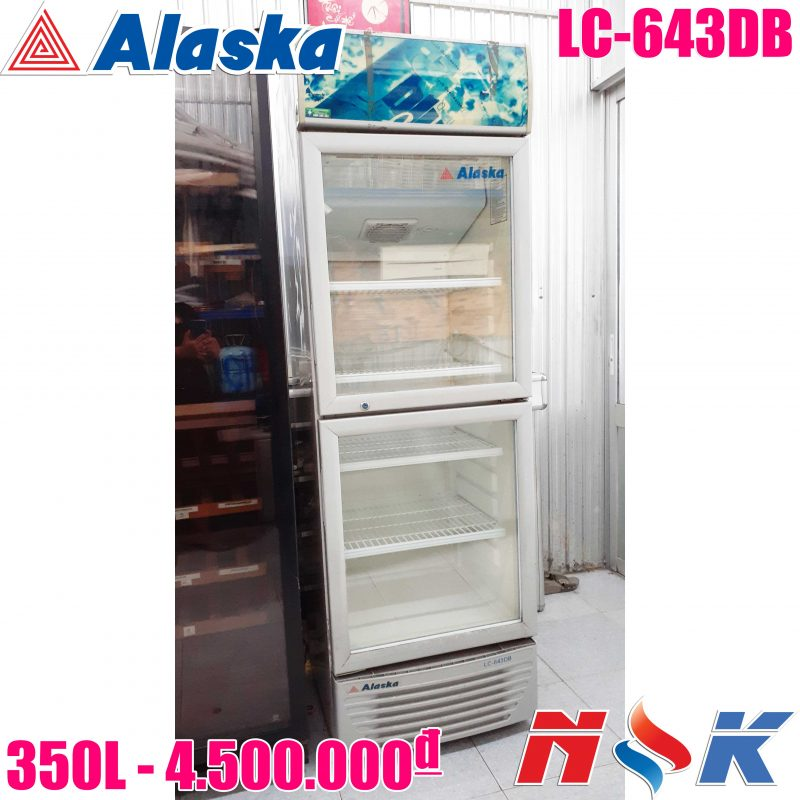 Tủ mát Alaksa LC-643DB 350 lít