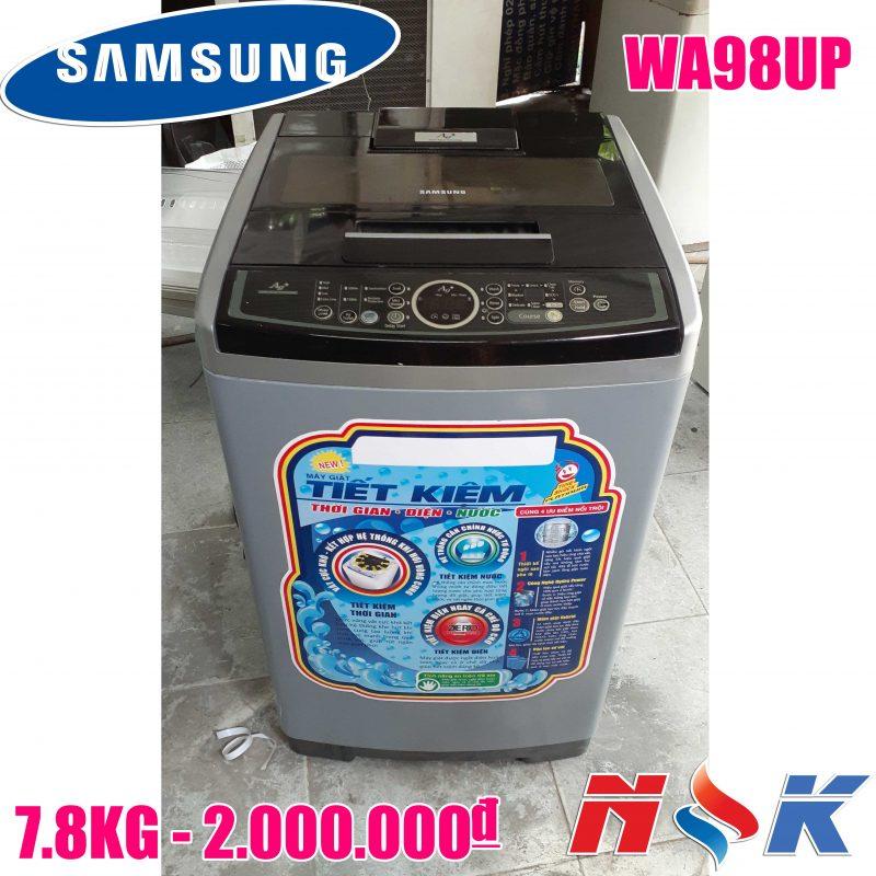 Máy giặt Samsung WA98UP 7.8kg
