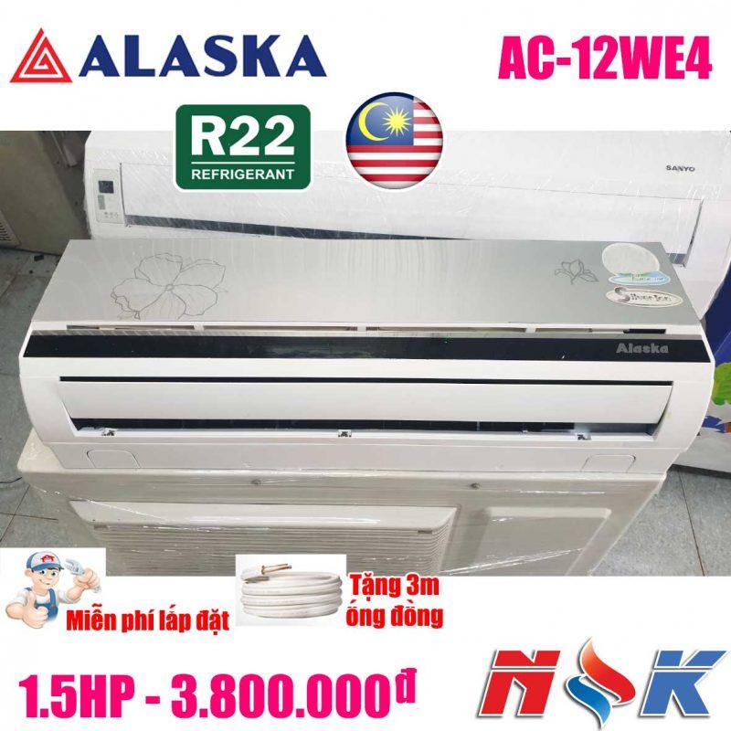 Máy lạnh Alaska AC-12WE4 1.5HP