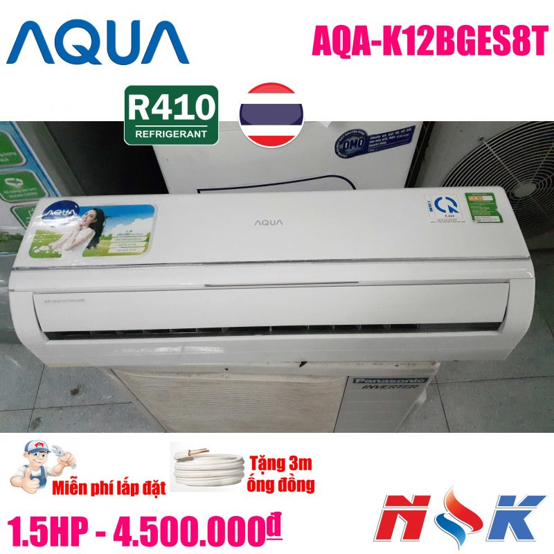 Máy lạnh Aqua AQA-K12BGES8T 1.5HP