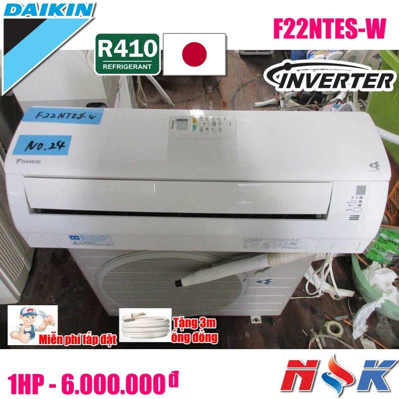 Máy lạnh Daikin Inverter F22NTES-W 1HP