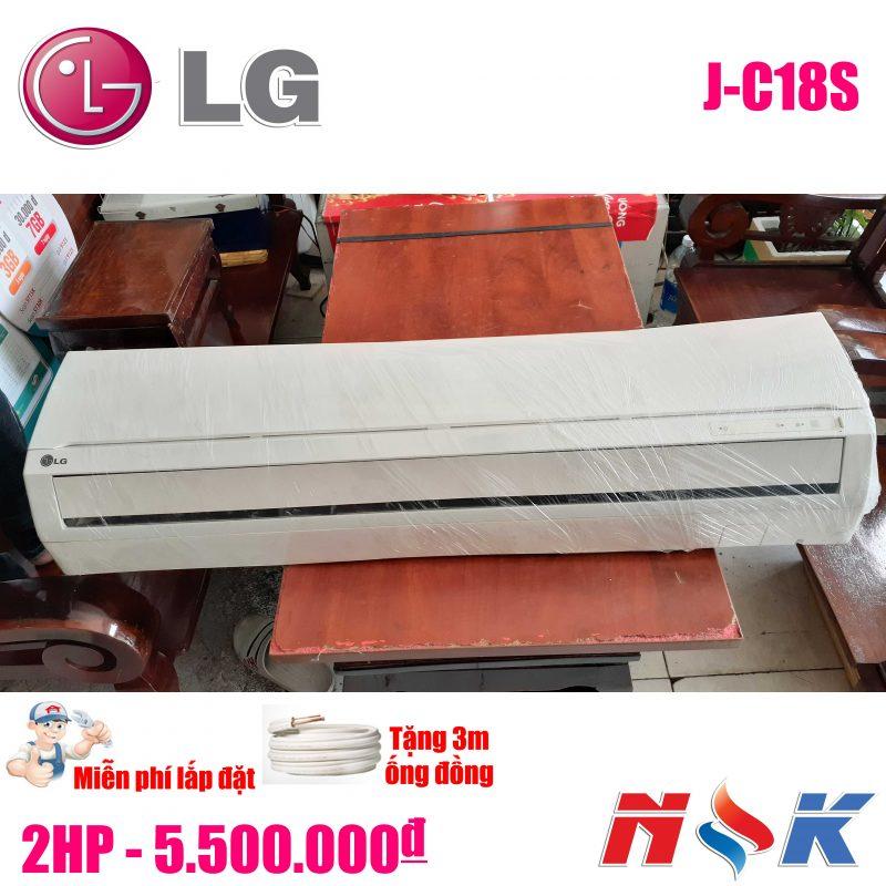 Máy lạnh LG J-C18S 2HP