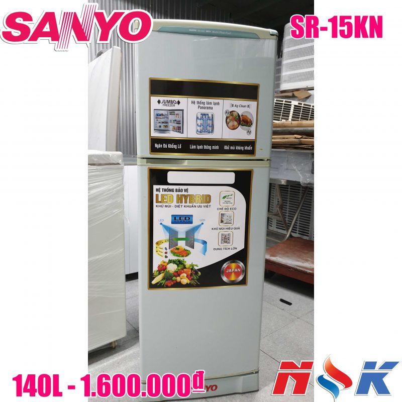 Tủ lạnh Sanyo SR-15TN 150 lít