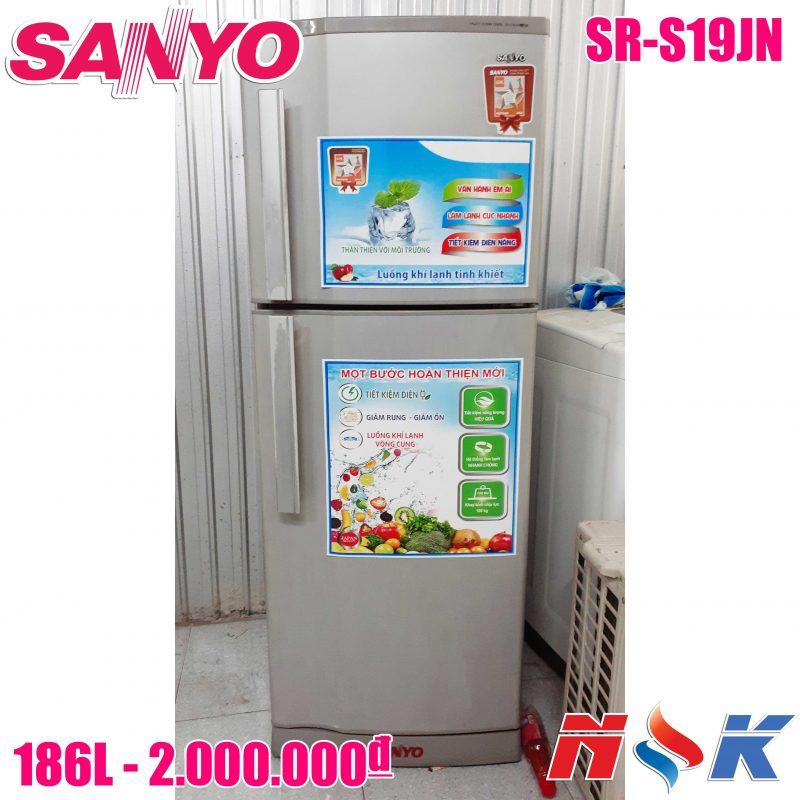 Tủ lạnh Sanyo SR-S19JN 186 lít