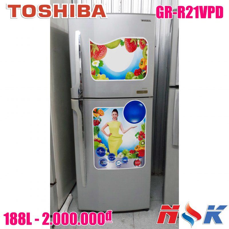 Tủ lạnh Toshiba GR-R21VPD 188 lít