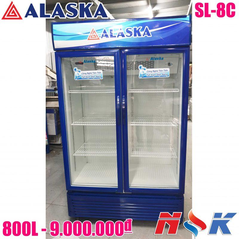 Tủ mát Alaska SL-8C 800 lít
