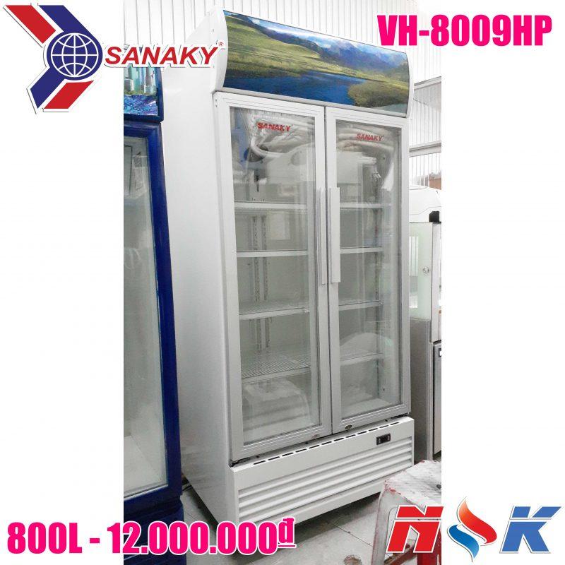 Tủ mát Sanaky VH-8009HP 800 lít